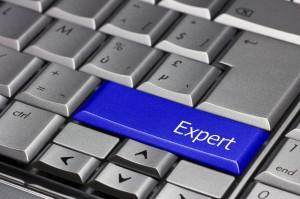 Computer Key blue - Expert